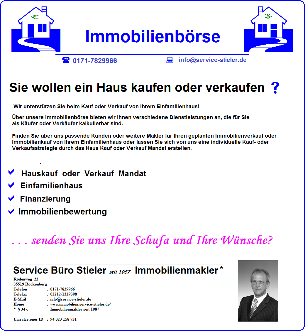Screenshot http://www.online-versicherungs-vergleiche.de/Einfamilienhaus-Immobilien-Boerse.html